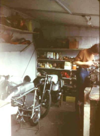 Gil dans notre atelier