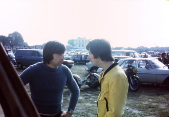 Claude à gauche Gilles à droite