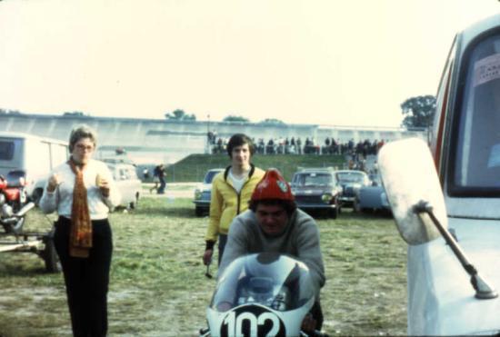 le 90cc Kawasaki de claude