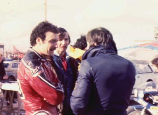 JP Boinet (à gauche et votre seviteur à droite)