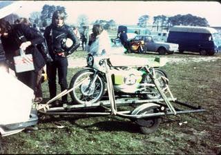 L'ex moto de Patrick Tran-Duc la Glützenbäum Lapize1973