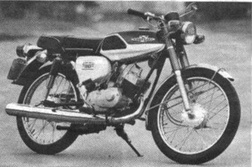 un 90cc Kawasaki d'origine